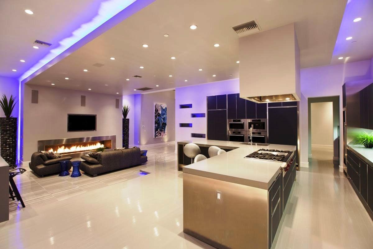 Decoracion pintura interiores fabulous decoracion - Pinturas decorativas para salones ...