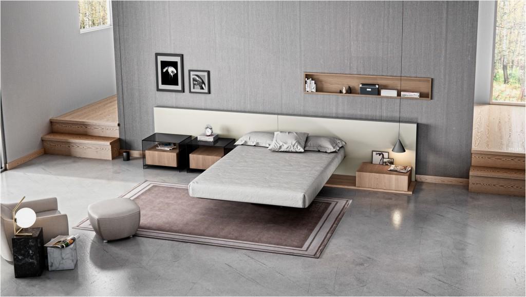 Diseño cama sin patas