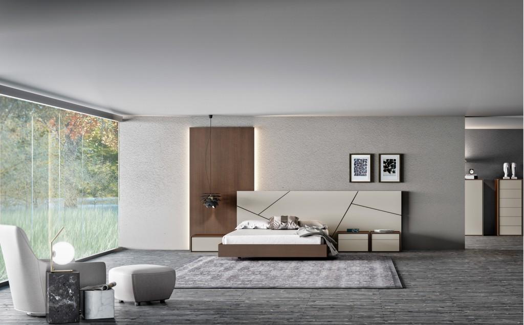 diseño cama dormitorio
