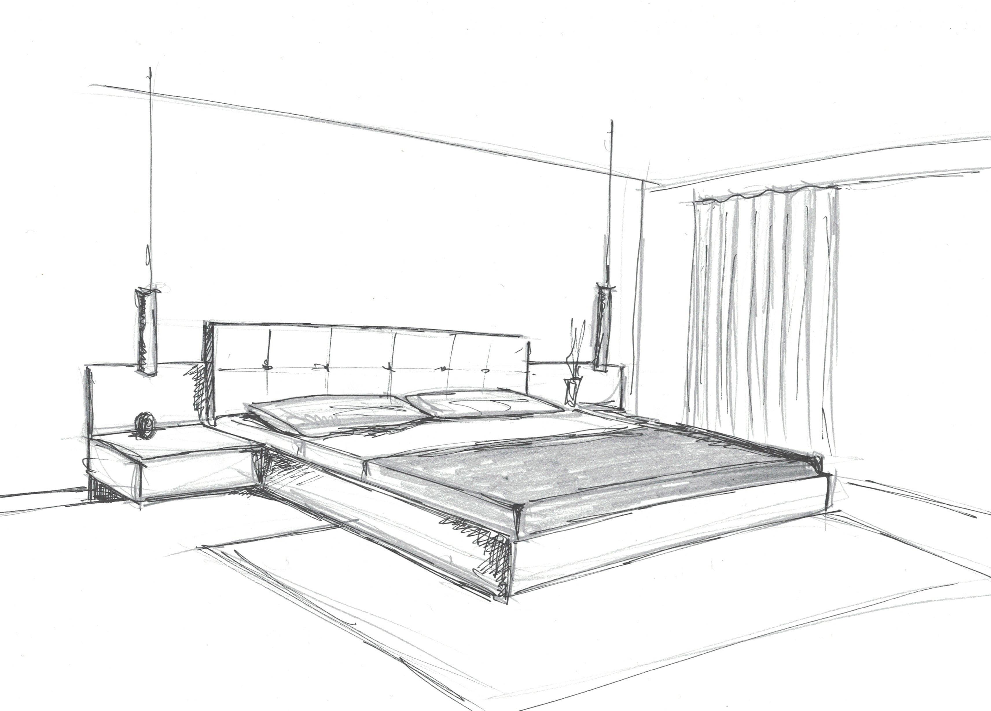 Fase de bocetaje en proyectos dise o de interiores valencia for Estudiar decoracion de interiores