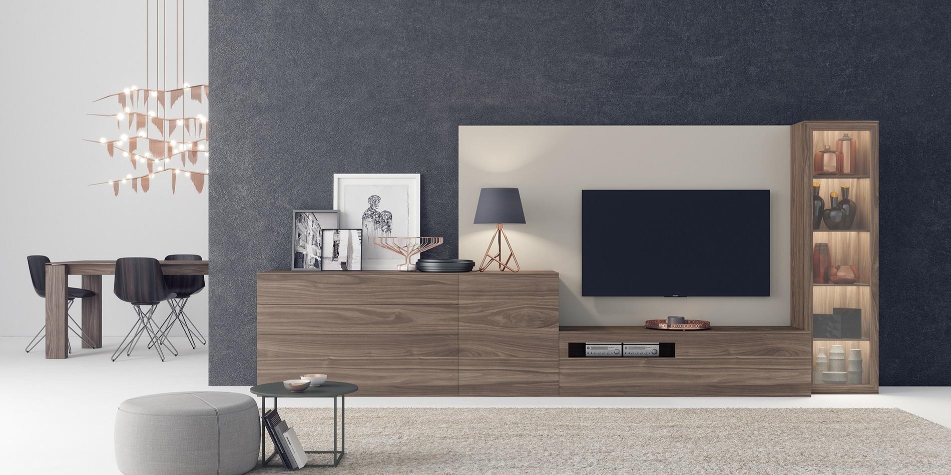 Muebles de comedor y salones de tendencia for Salones modernos diseno