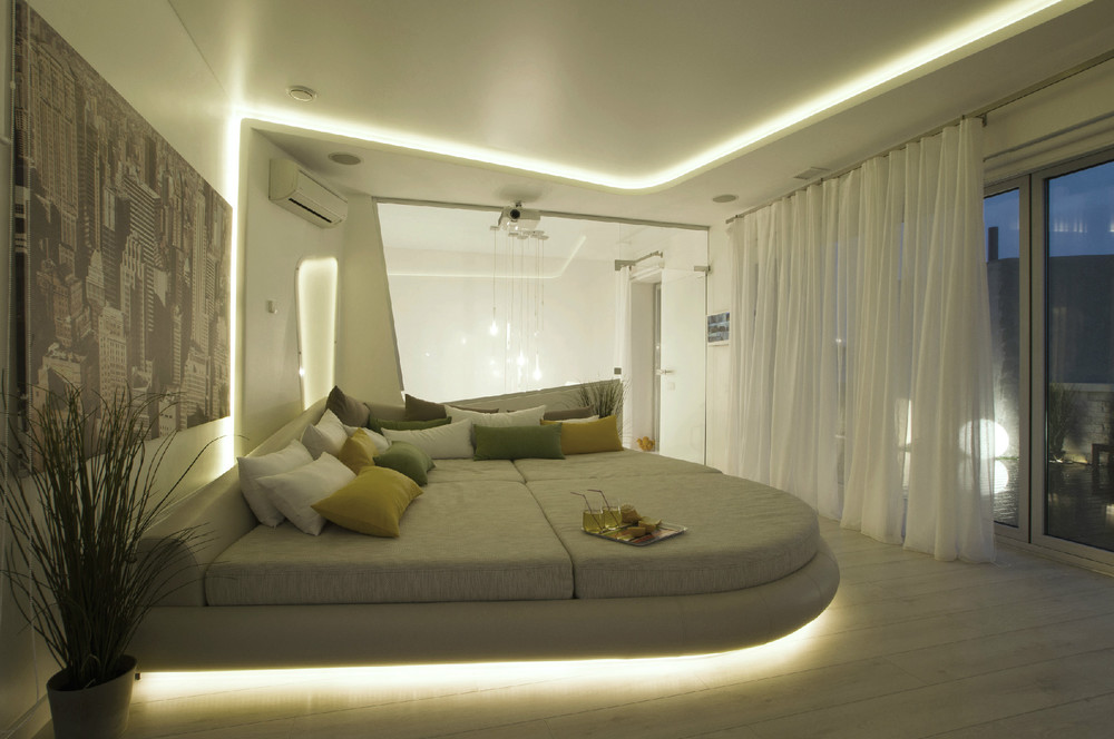 La importancia de la iluminaci n en el dise o de interiores - Iluminacion para techos bajos ...