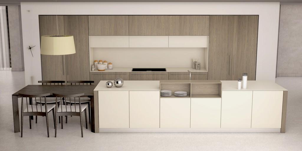 Dise o de cocinas interioristas y decoradores cocinas - Saitra cocinas ...