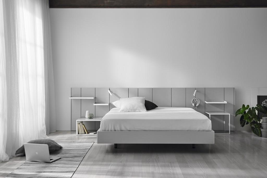 Dormitorios matrimonio de dise o c lidos y funcionales - Diseno interiores valencia ...