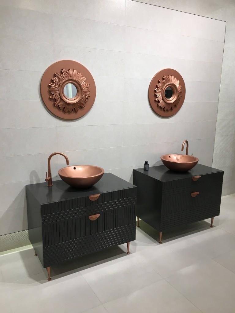 cevisama 2017 lavabos bronce