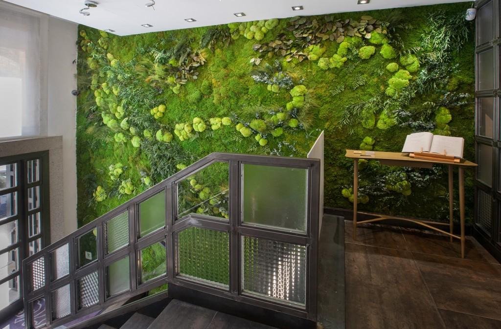 diseño interiores jardin vertical