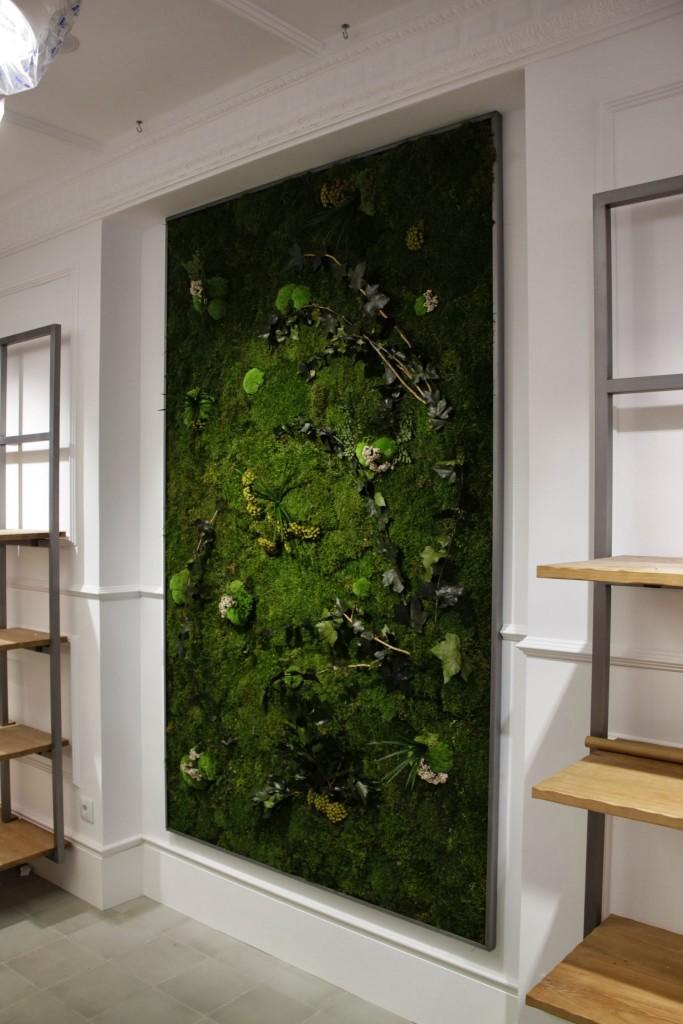 Jardines verticales para interiores proyectos de for Que es un jardin vertical