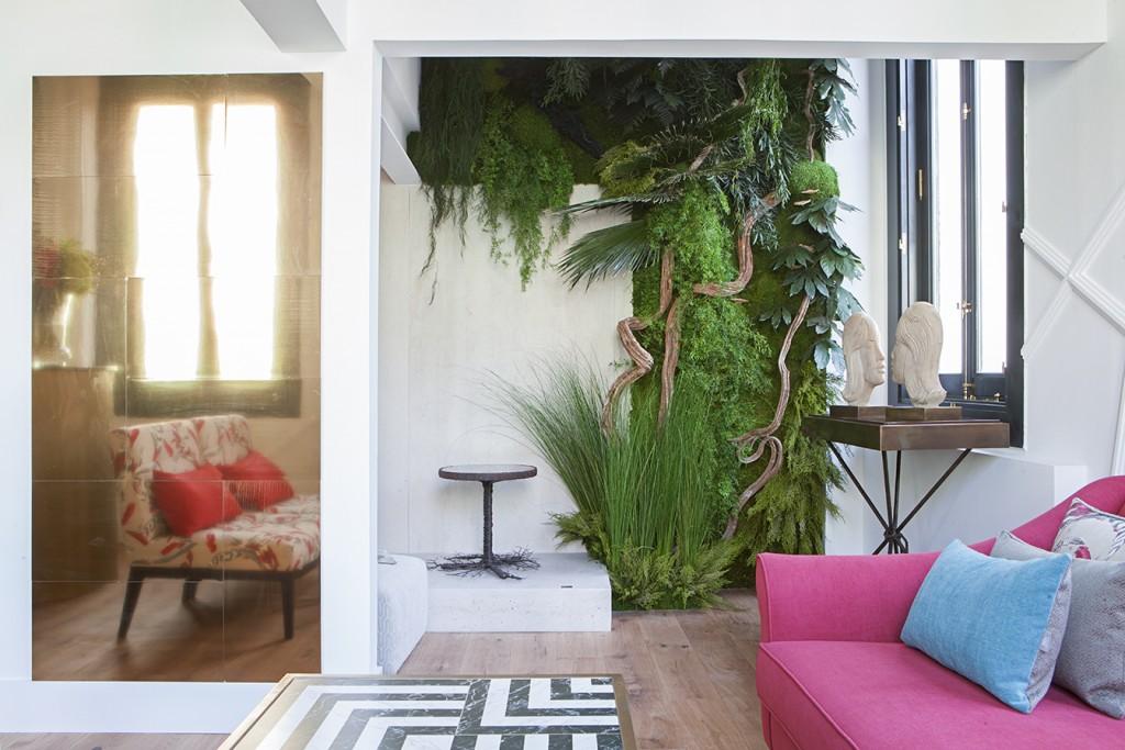 jardin vertical diseño interiores
